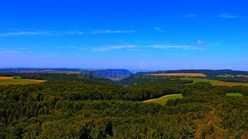 En sikt av horisonten royaltyfri foto