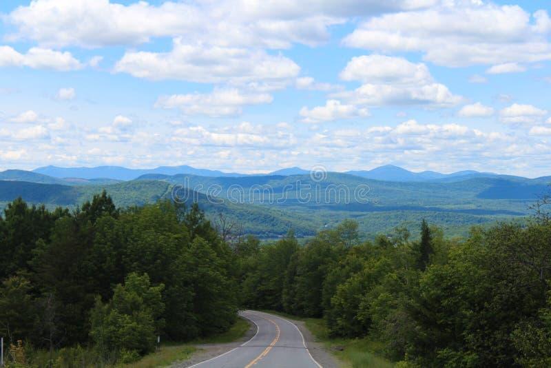 En sikt av Maine arkivbilder