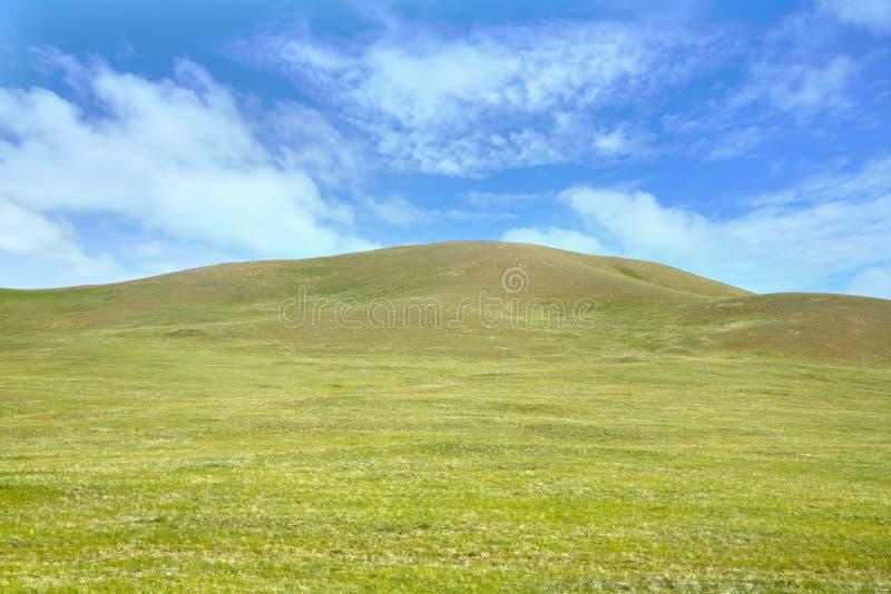 En sikt från detSiberian drevet på Ulaanbaatar, Mongoliet arkivfoton