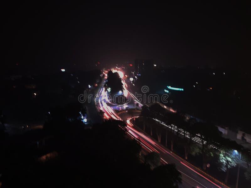 En sikt från monalhotellet Lahore arkivbild