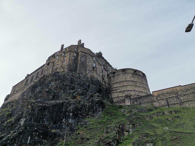 En slott som väntar på en konung arkivfoton
