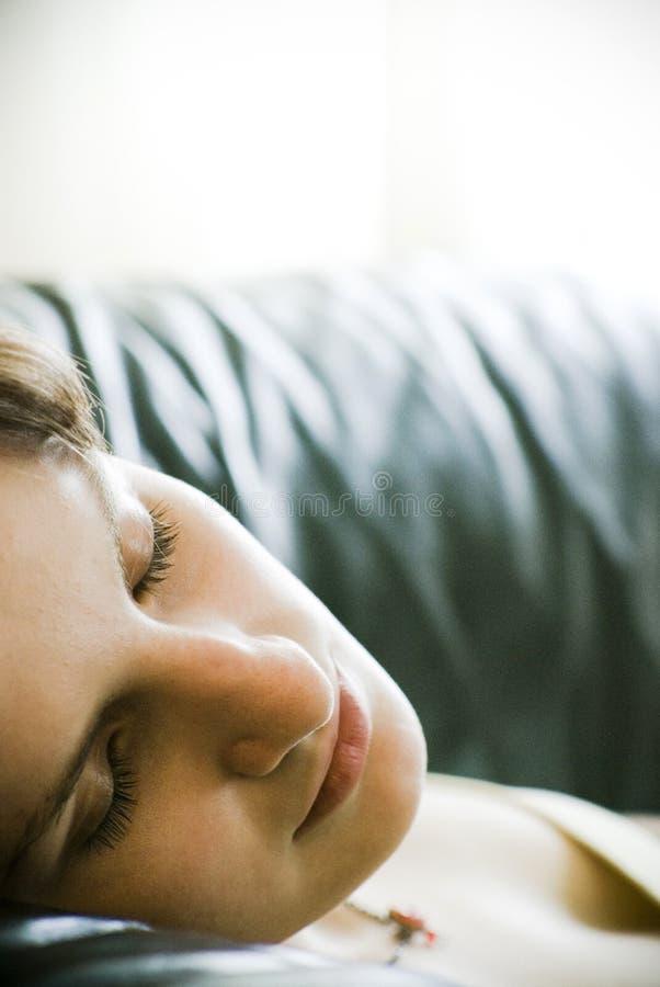 En sommeil photographie stock