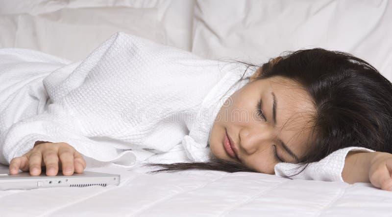 En sommeil images libres de droits