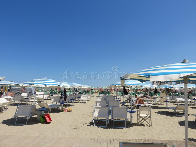 En Spiaggia foto de archivo