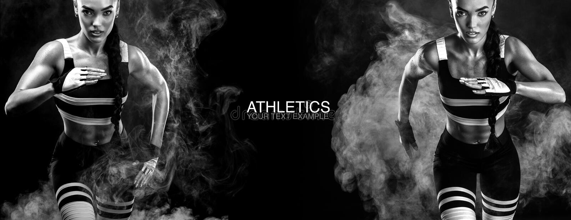 En stark idrotts- kvinnlig sprinter som kör på soluppgång som bär i det sportswear-, kondition- och sportmotivationbegreppet royaltyfri foto