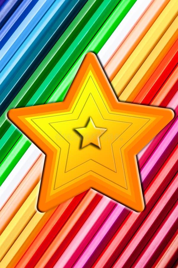 En stjärna royaltyfria foton