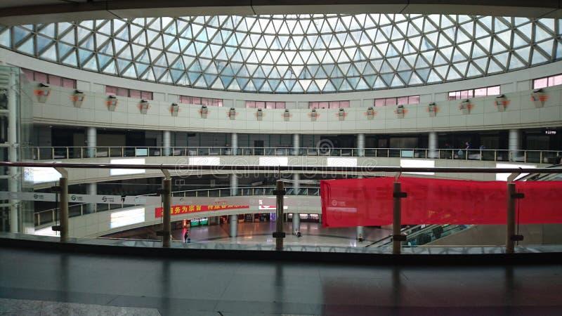 En stor konstruktion i Guangzhou fotografering för bildbyråer