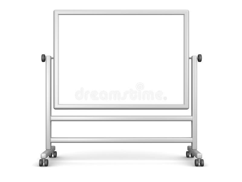 Stora Whiteboard stock illustrationer