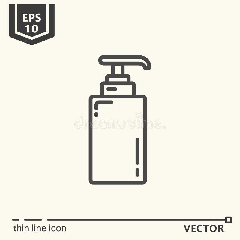 En symbol - utmatare vektor illustrationer