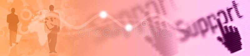 En-tête - drapeau illustration de vecteur