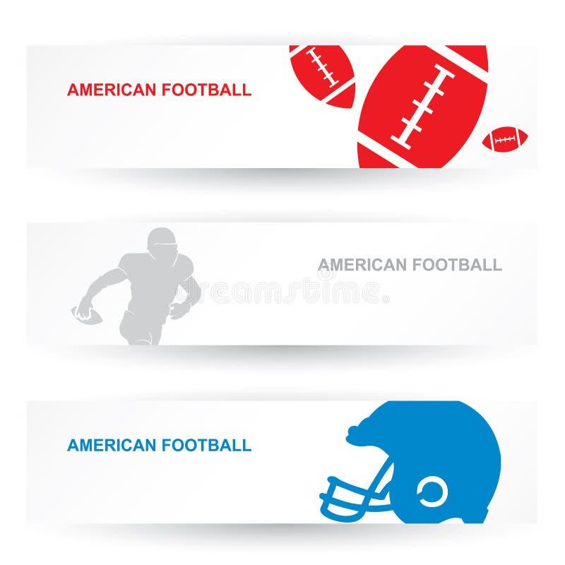 En-têtes De Football Américain Image libre de droits