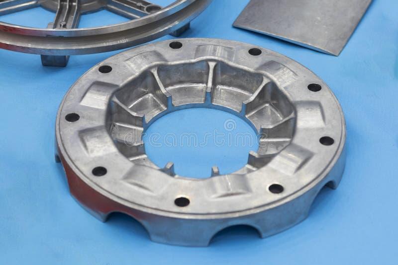 en tant que fonte d'aluminium la pièce de moulage mécanique sous pression photos libres de droits