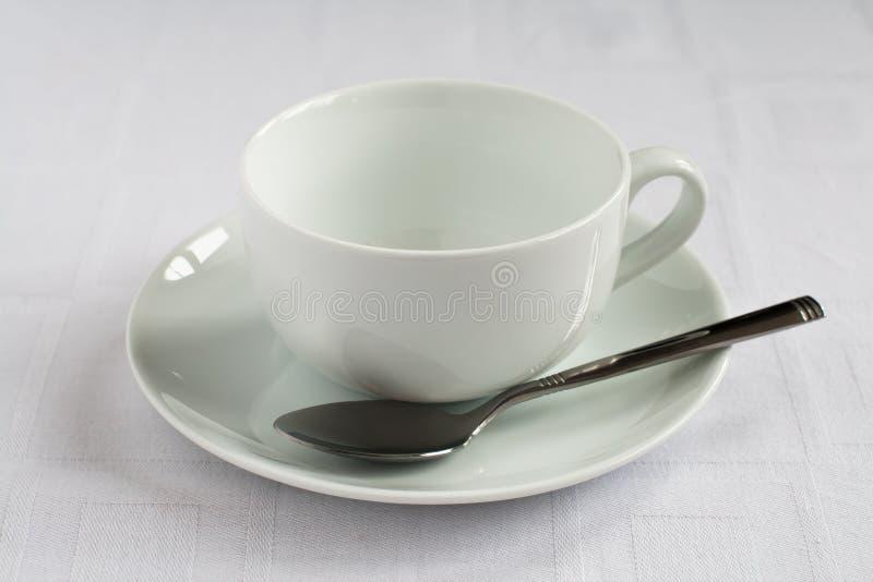 Teacup och saucer royaltyfri foto