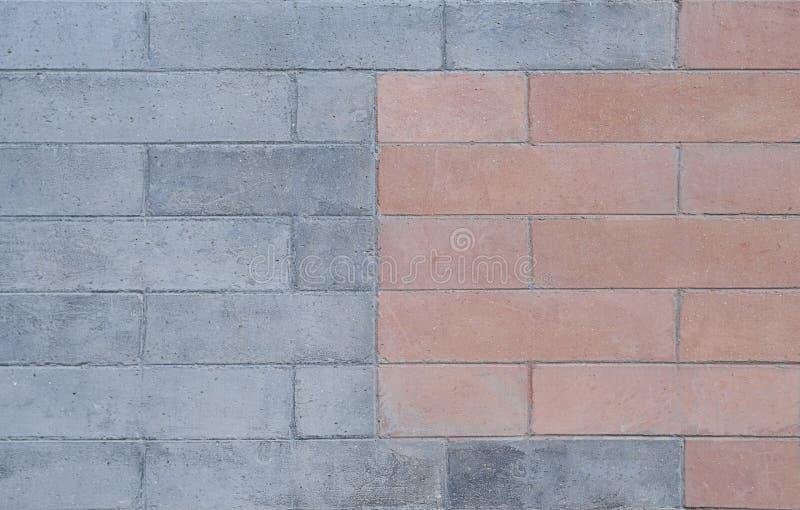 En tegelstenvägg arkivfoto