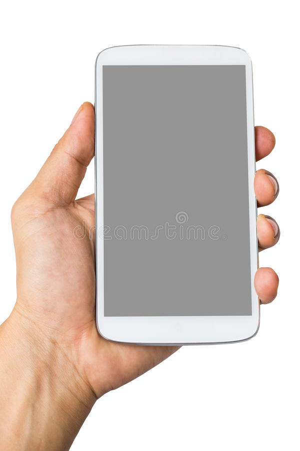 Download En Tenant Le Téléphone Intelligent Pour Faites Quelque Chose Image stock - Image du connexion, businessman: 45364361