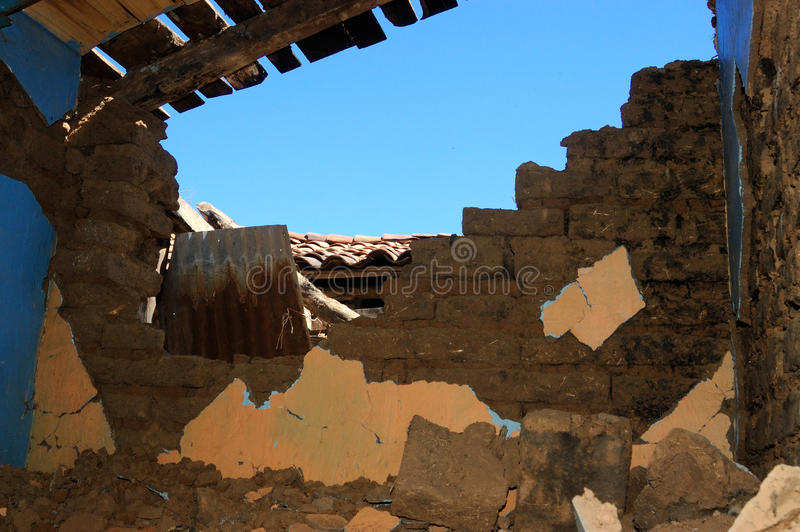 EN terremoto της Χιλής στοκ φωτογραφία