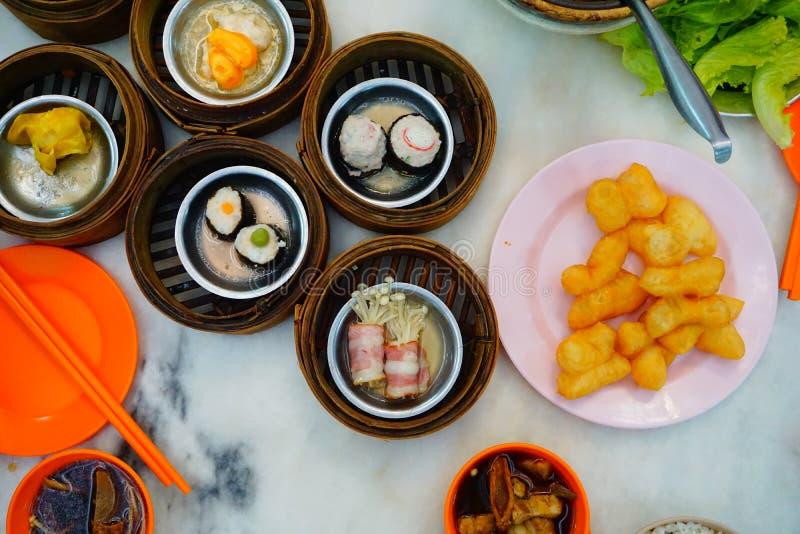 En thai frukost royaltyfri bild