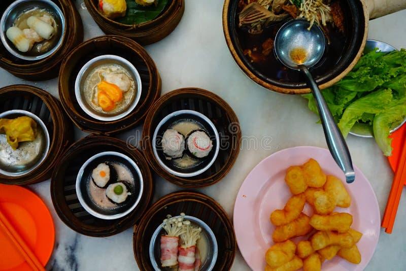 En thai frukost arkivbilder