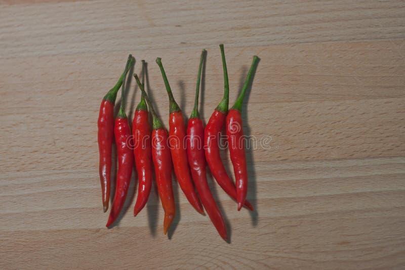 En thailändsk chili, är det varm ` s, kryddigt men bra för mer läcker hälso- och uppehällemat arkivbilder
