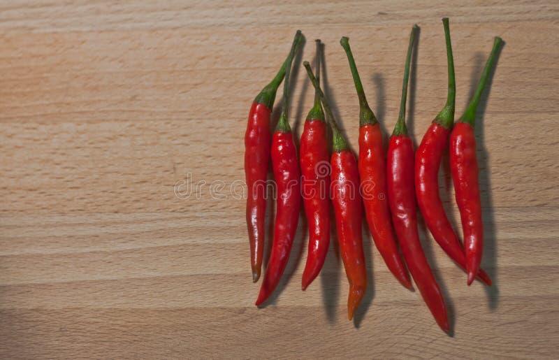 En thailändsk chili, är det varm ` s, kryddigt men bra för mer läcker hälso- och uppehällemat royaltyfria foton