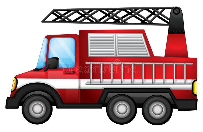 En Transport åker Lastbil Arkivfoton