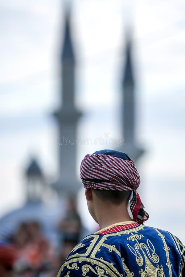 En turkisk dansare arkivbild