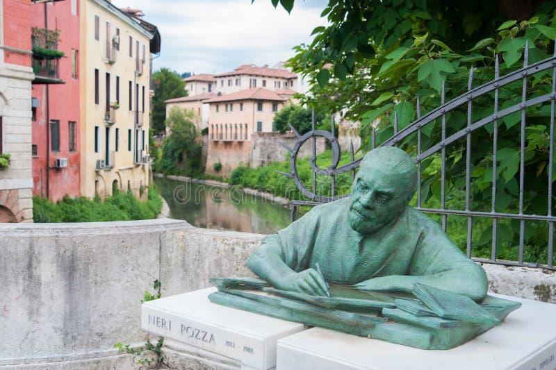 En turnera i Vicenza arkivbild