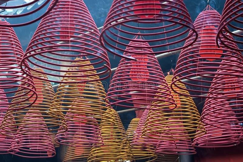 En un templo fotografía de archivo libre de regalías