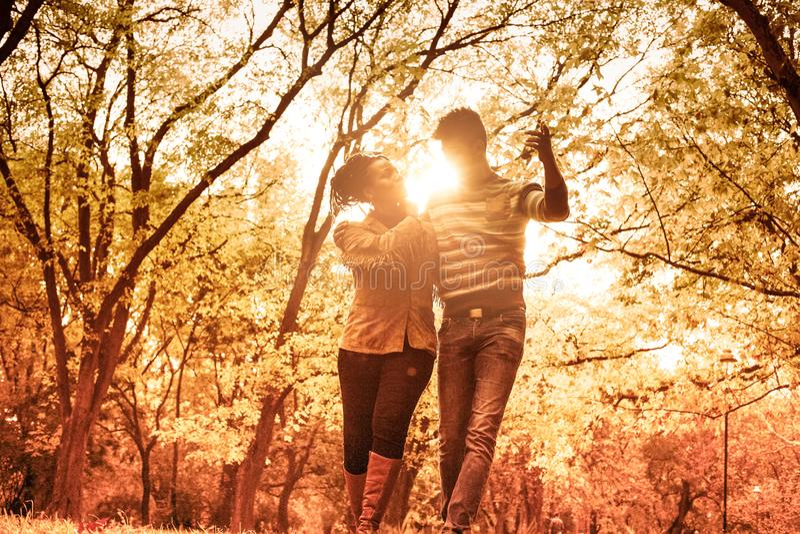 En una aventura al aire libre impresionante fotografía de archivo libre de regalías