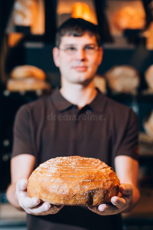 En una panadería imagen de archivo libre de regalías