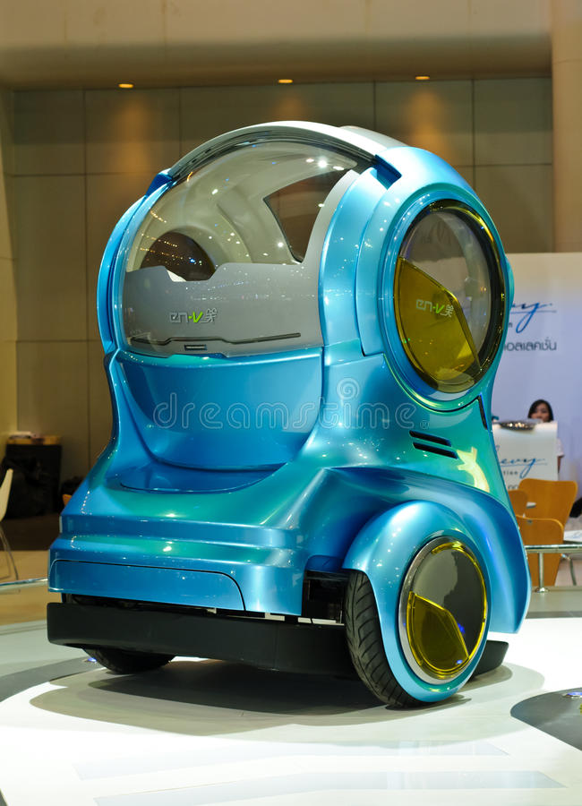 EN-V or electric networked-vehicle