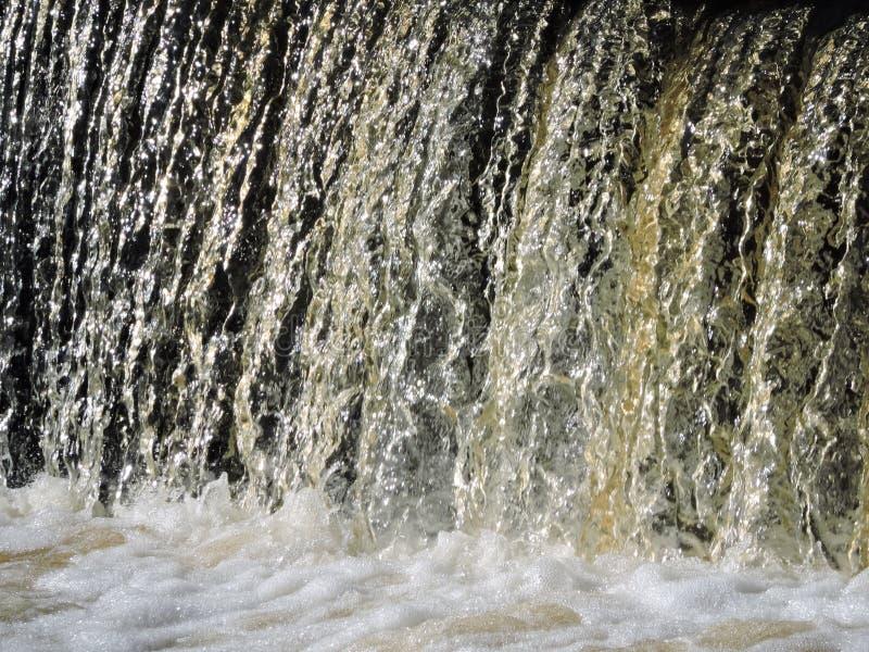 En vattenfall royaltyfria bilder