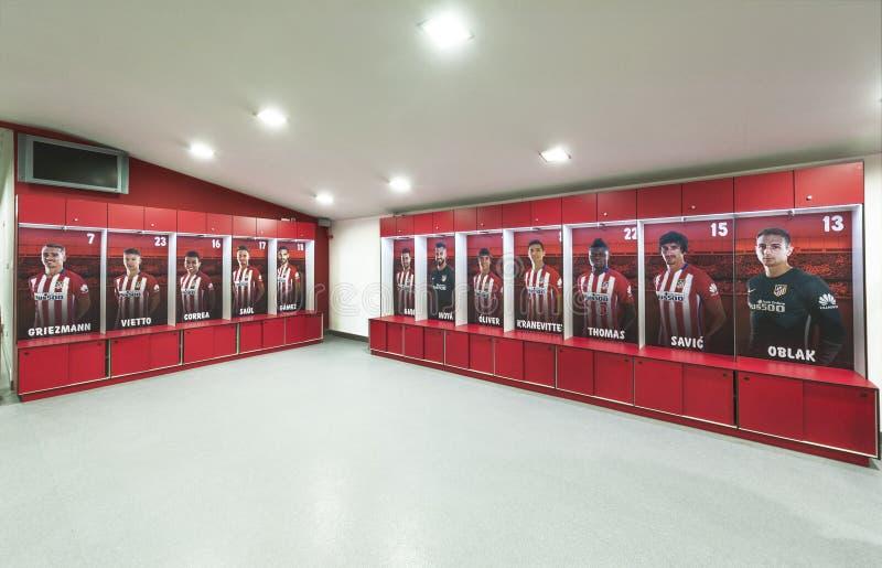 En Vicente Calderon Stadium fotografía de archivo