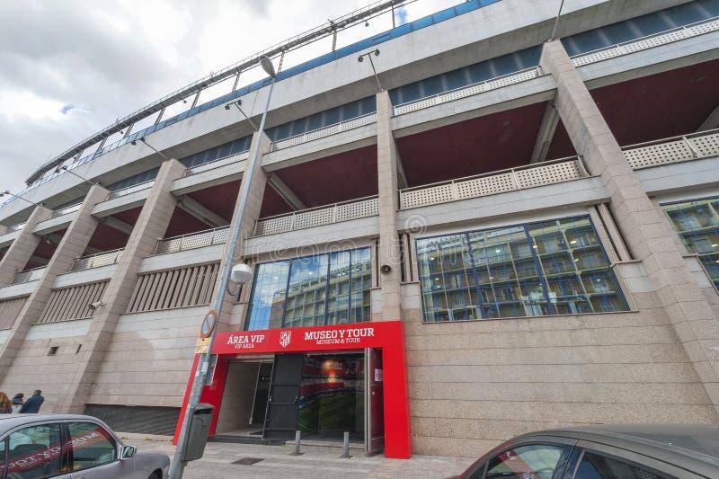En Vicente Calderon Stadium imagenes de archivo