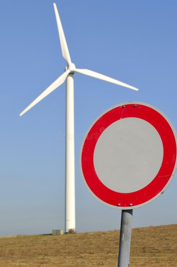 en wind för strömgata långt arkivfoto
