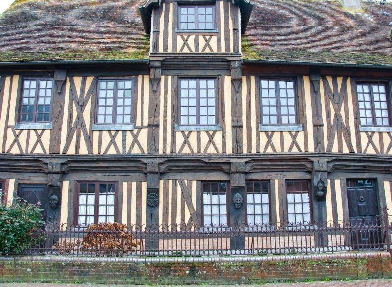 en wioski architektura w Francja fotografia royalty free