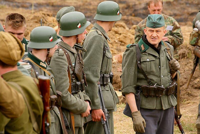 spesso Enactors Ri- Militari In Tedesco La Seconda Guerra Mondiale Dell  UO05