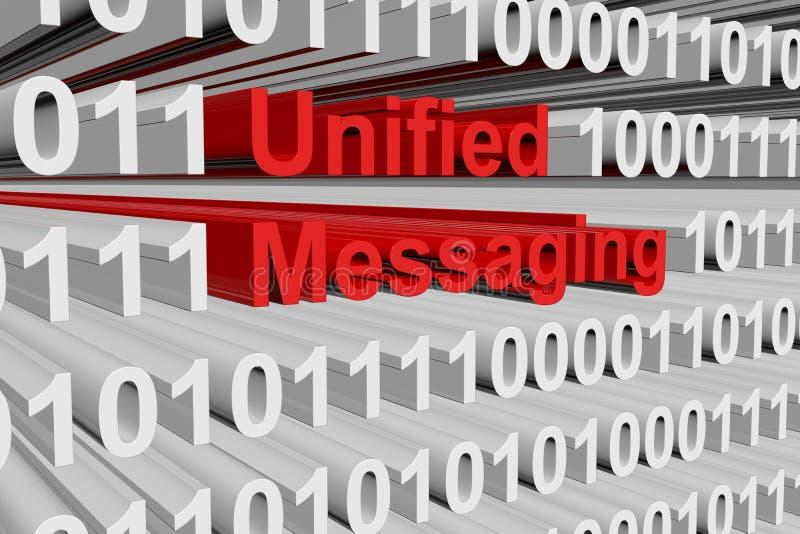 Enad messaging vektor illustrationer