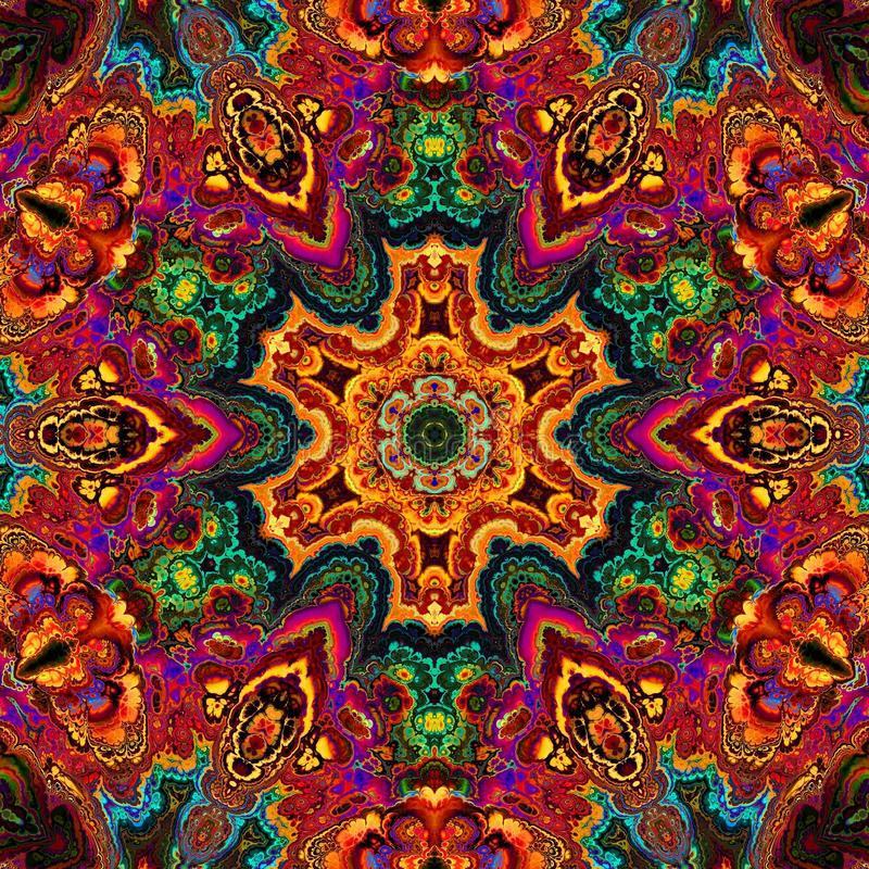 Download Enamel kaleidoscope stock image. Image of design, beautiful - 49224473