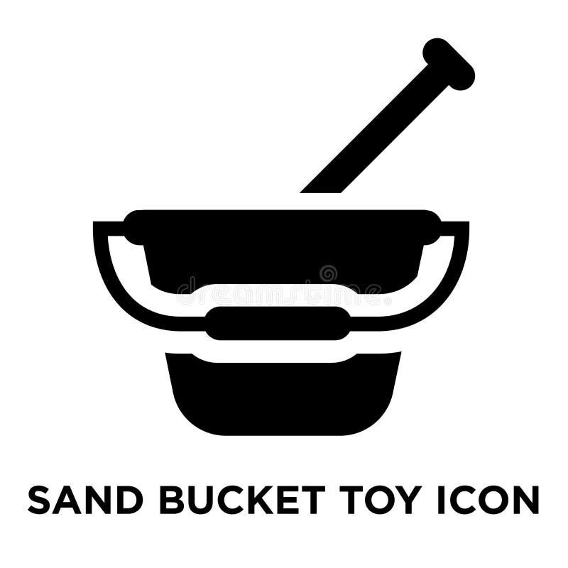 Enarene el vector del icono del juguete del cubo aislado en el fondo blanco, logotipo c libre illustration