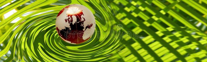 Encabeçamento ambiental ilustração do vetor
