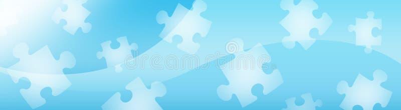 Encabeçamento/bandeira abstratos do Web ilustração stock