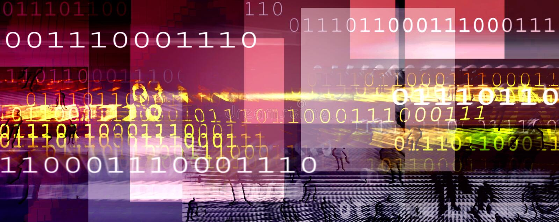 Encabeçamento do Internet ilustração do vetor