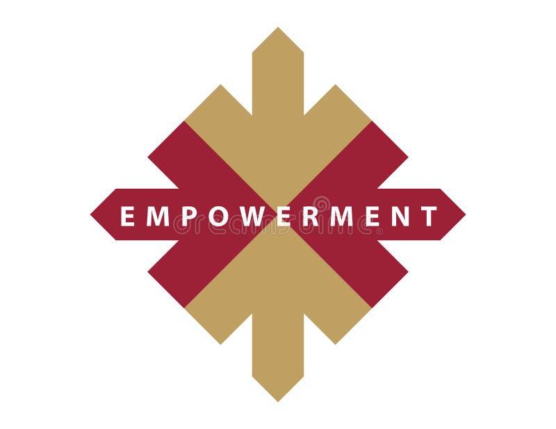 Encabezamiento/Logo-Empowerment-2 ilustración del vector