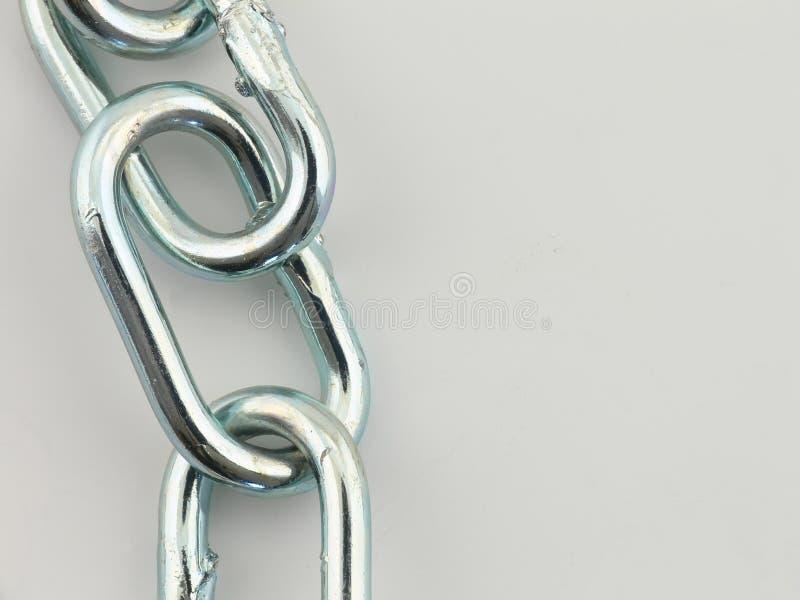Encadenamiento de acero imagen de archivo libre de regalías