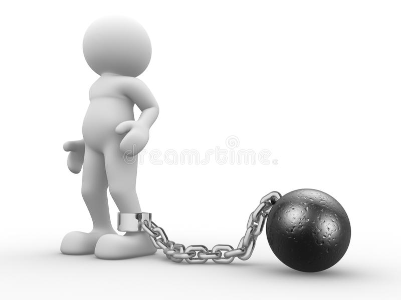 Encadenamiento de la bola libre illustration