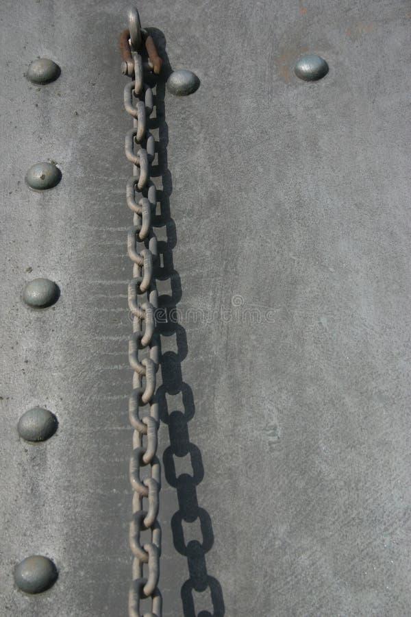 Encadenamiento del hierro foto de archivo