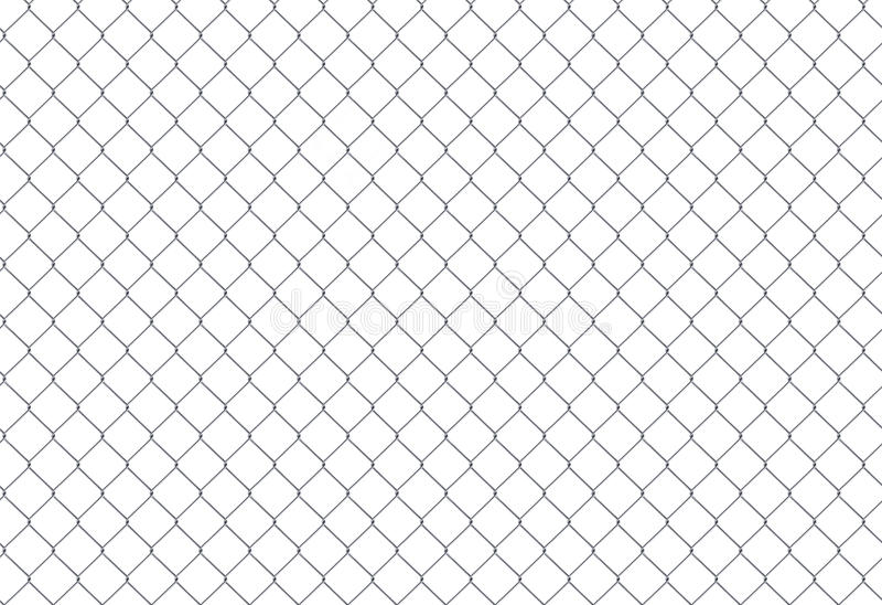Encadene la cerca Rejilla de acero libre illustration