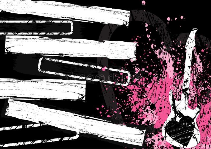encadre la grunge illustration libre de droits