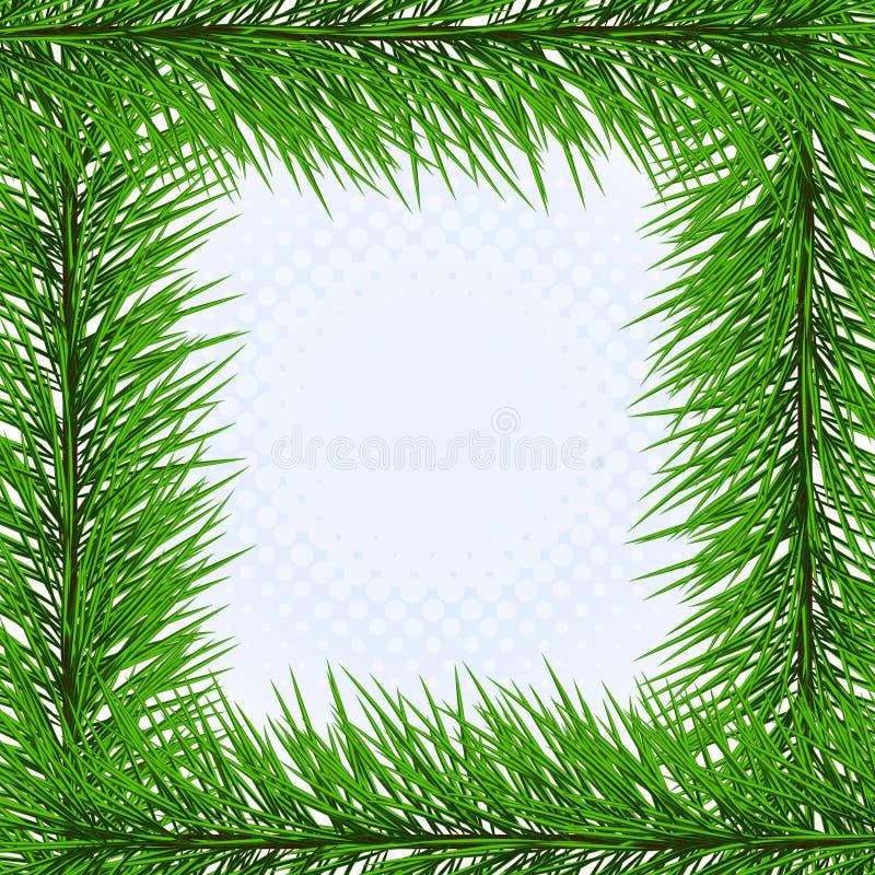 encadrez le pin illustration de vecteur